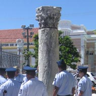 The Roman Column in Natal, Brazil